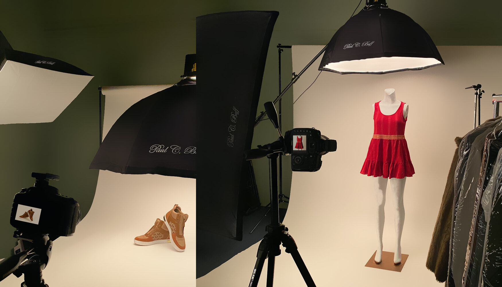 Clothing and Product Photography Studio Logo